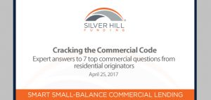 Cracking the commercial mortgage code - Silver Hill Funding
