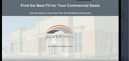 Find the Best Fit Webinar - Silver Hill Funding